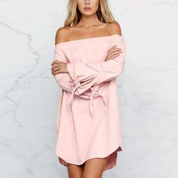 Sukienka damska bez ramiączek - 3 kolory