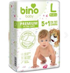 BINO BABY PODLOŽKA L 90 x 60 cm 5+1 zdarma PD_1326823
