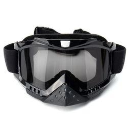 Crne naočare za motokros - 3 boje stakala
