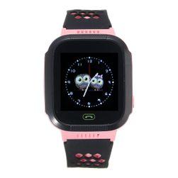 Inteligentny zegarek z lokalizatorem GPS i ekranem dotykowym - niebieski, różowy