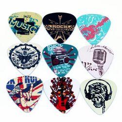 Set od 10 stilskih trzalica za rock gitaru - 0,71 mm