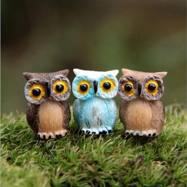 Маленькие совы для декора 1