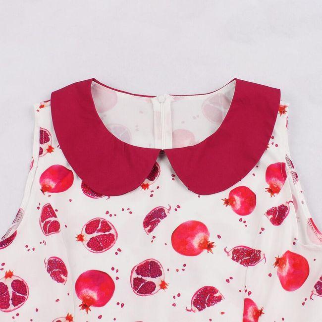 Női A szabású ruha Pomegranate