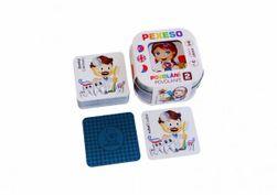 Pexeso Zawód 2 - Palec - 64 karty w blaszanym pudełku  RM_10770408