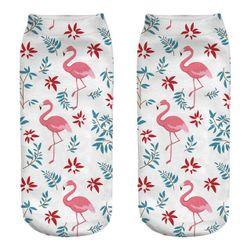 Dámské ponožky Flamingo
