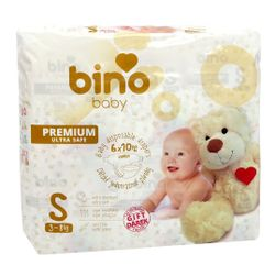 Plienky BINO BABY PREMIUM S + darček prebaľovacia podložka
