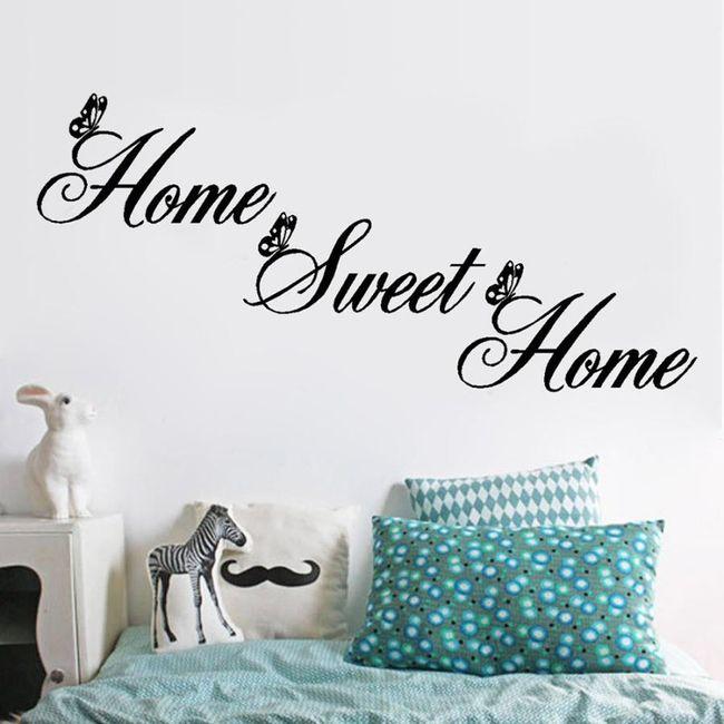 Duvar çıkartması - Home sweet home 1