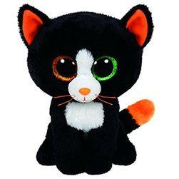 Crna plišana maca