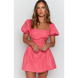 Women's dress with bare back TF3733