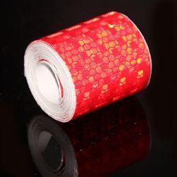 Светоотражающая защитная лента - 3 м - 5 цветов