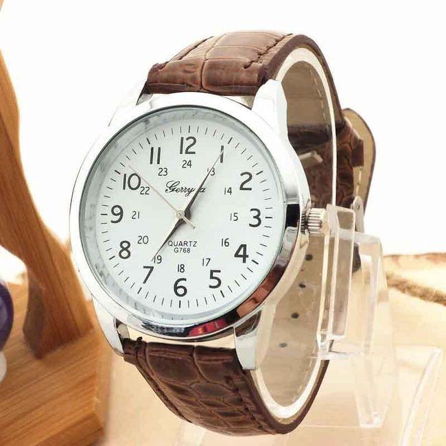 Unisexové hodinky s velkými číslicemi - 8 barev 1