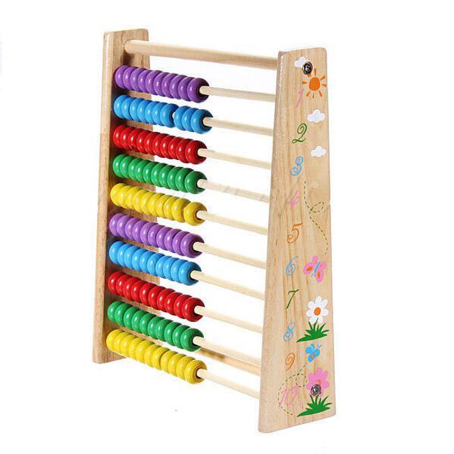 Dětské dřevěné počítadlo 1