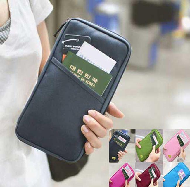 Multifunkční taška na doklady - v 6 barvách 1
