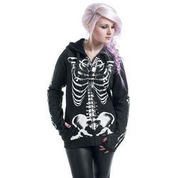 Толстовка со скелетом