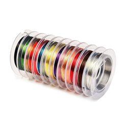 Kolorowe druty do tworzenia biżuterii
