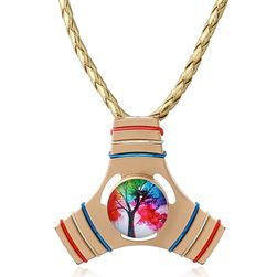 Fidget spinner nyaklánc - 3 szín