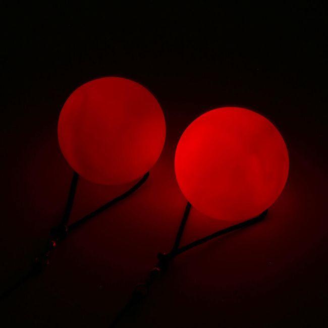LED svítící koule na tancování 1