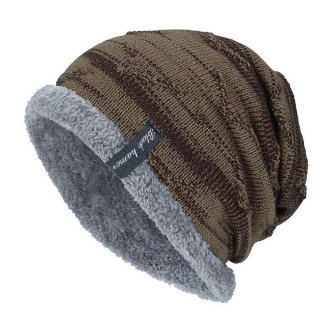 Мужская зимняя шапка Cастиел 1