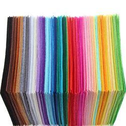 Látková dekorativní plsť - 40 kusů