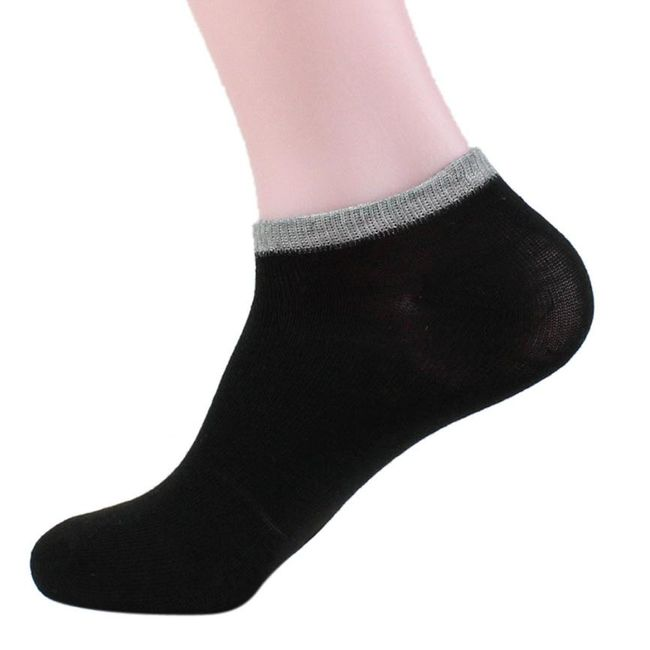 Kotníkové ponožky - 6 barev 1