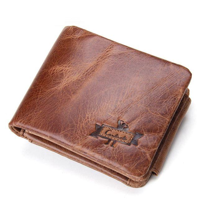 Pánská peněženka s dostatkem úložného prostoru 1