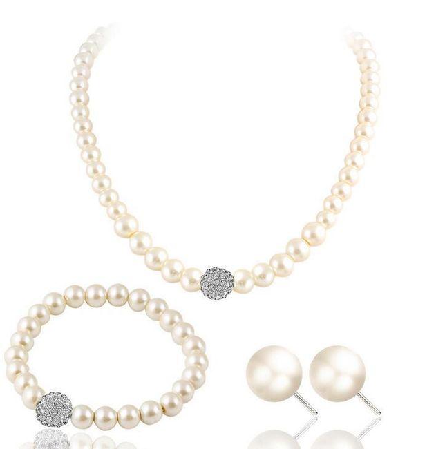 Sada šperků z umělých perel 1