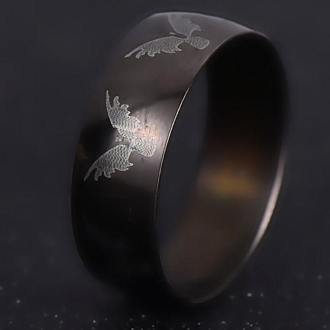Prsten zdobený orlem 1