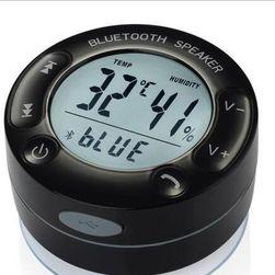 Difuzor Bluetooth cu ventuză pentru baie și indicator de temperatură