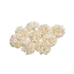 Umělé květiny Hortenzia Šampaňská