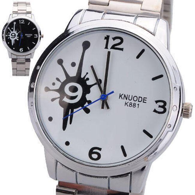 Náramkové hodinky s kaňkou na ciferníku - ve 2 barvách 1