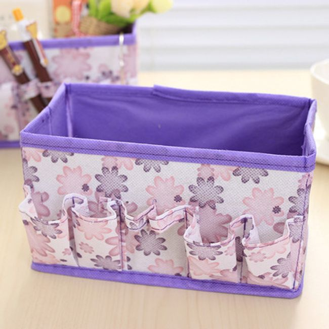 Škatla za kozetiko - vijolična 1
