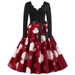 Женское новогоднее платье Alyson