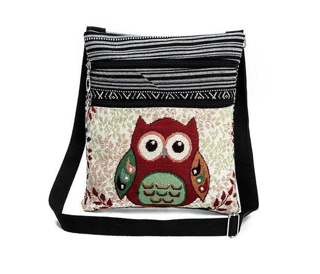 Ženska torbica sova 1