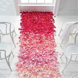 Set od 500 dekorativnih cvetnih listova - razne boje