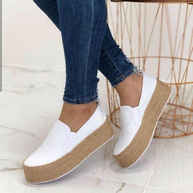 Ženske cipele na platformu Morry 1