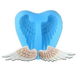 Silikonová forma na fondán - křídla