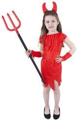 Dětský kostým Čertice s rohy (S) RZ_800274