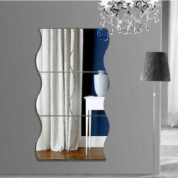Nalepnica za zid - ogledalo na slaganje za enterijer