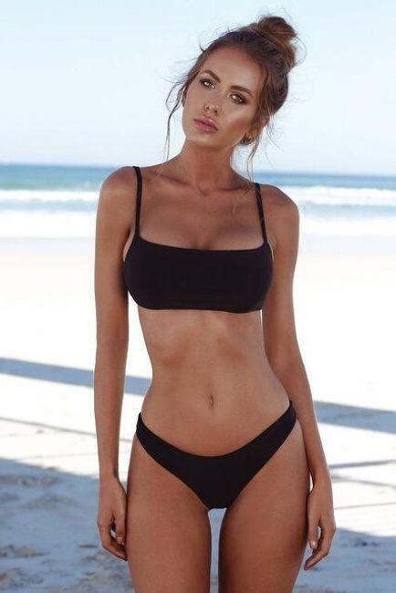 Sexy kupaći sa tankim bretelama 1