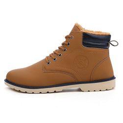 Pánské zimní boty s kožíškem - 3 barvy