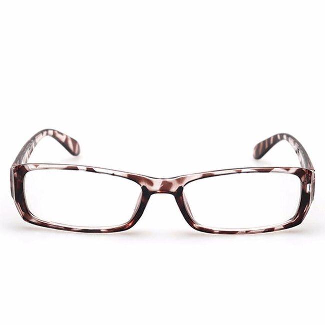Elegantna očala s kvadratnimi stekli 1