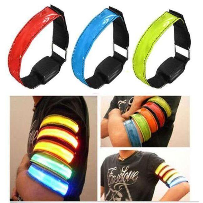 LED osvetljen odsevni trak za roke - 5 barv 1