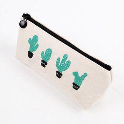 Dražesna pernica sa kaktusima - 3 varijante