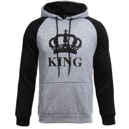Królowa i Król bluzy dla pary- wariant 8 męska - rozmiar 4
