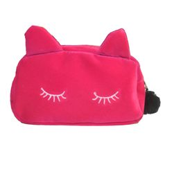 Macska alakú kozmetikai táska - 4 színben