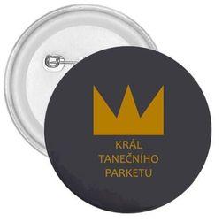 Placka Král tanečního parketu