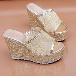 Women´s wedge heel slippers Leilani