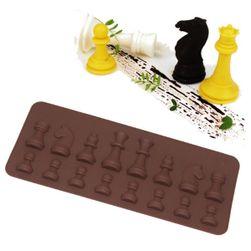 Silikonska forma - Šahovske figure