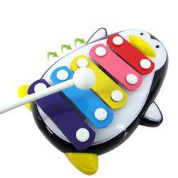 Gyerek xylofon pingvin formájában - 2 szín