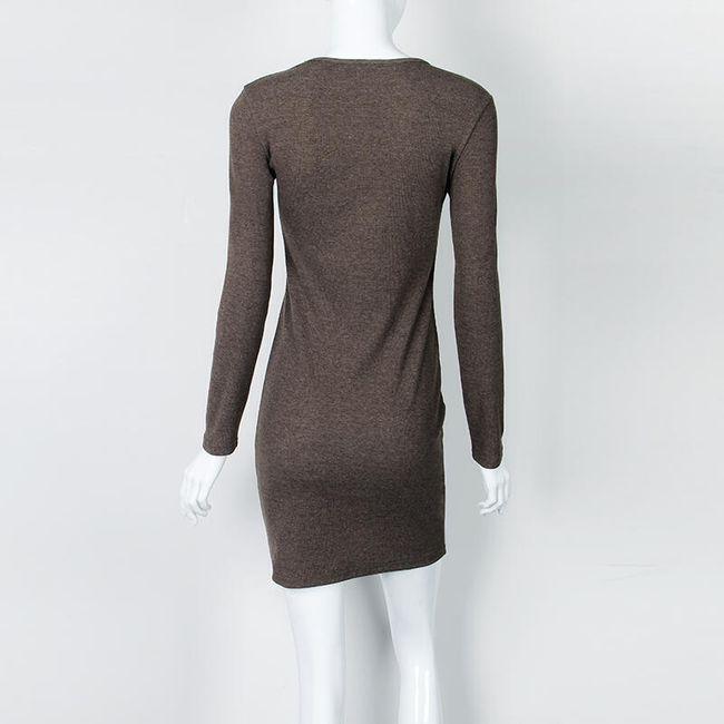 Mély nyakú ruha - 6 változat